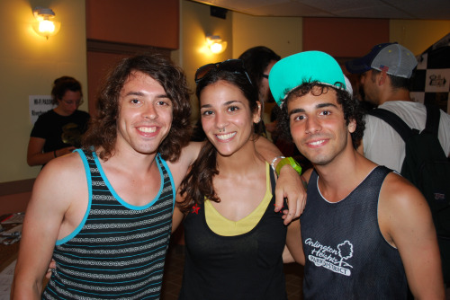 with Sam and Jean Paul of Cash Cash