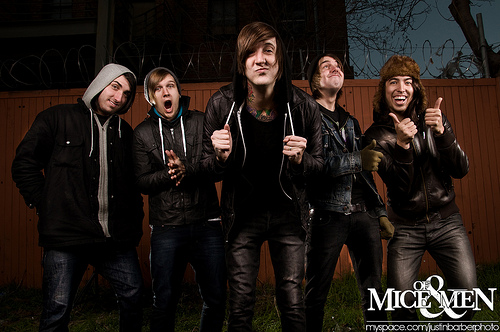 Of Mice And Men, Woe Is Me, Texas In July...