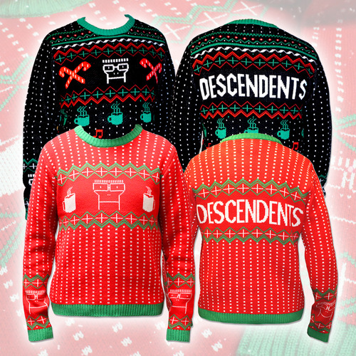 buy a descendents holiday sweater for charity - Descendents Christmas Sweater